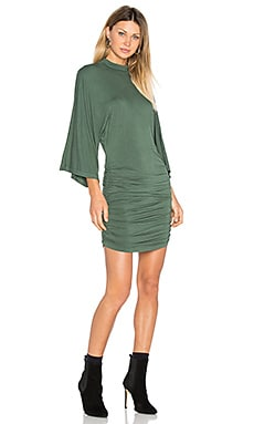 Shiloh Dress in Hunter Green