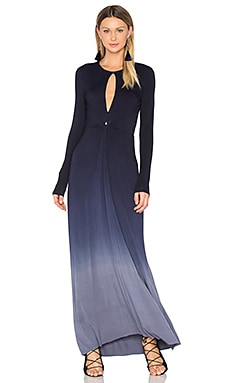 Mariel Dress in Navy Slate Ombre