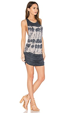Rocky Dress in Charcoal Streak Wash
