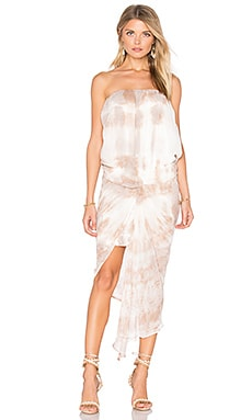 Kauai Dress in Taupe Streak Wash
