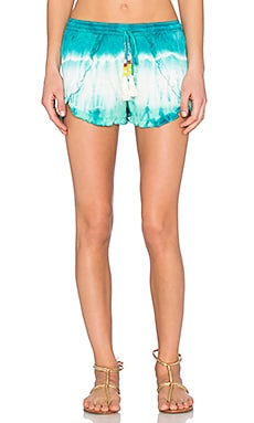 Young, Fabulous & Broke Coral Short in Caribe Tide Wash