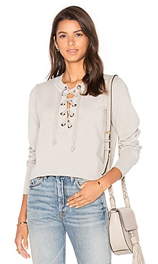 Young, Fabulous & Broke Noelle Sweater in Taupe