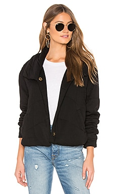 BLOUSON FLURRY Young, Fabulous & Broke $109