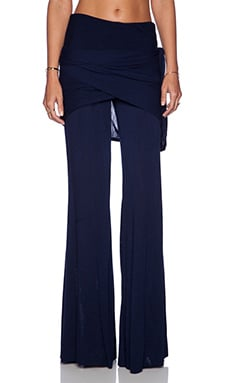 Young, Fabulous & Broke Marina Pant in Solid Navy
