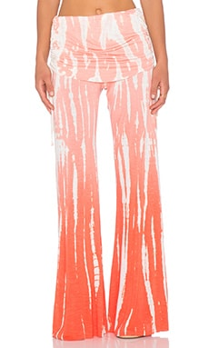 Young, Fabulous & Broke Sierra Pant in Melon Rain Ombre