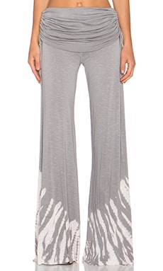 Young, Fabulous & Broke Sierra Pant in Grey Alligator Wash
