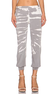 Young, Fabulous & Broke Callen Pant in Grey Alligator Wash