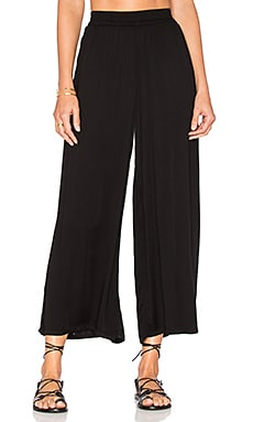 Dessa Pant in Black Solid