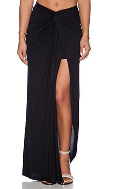Young, Fabulous & Broke Kulani Maxi Skirt in Solid Black