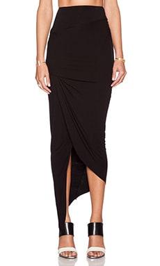 Young, Fabulous & Broke Sassy Skirt in Black