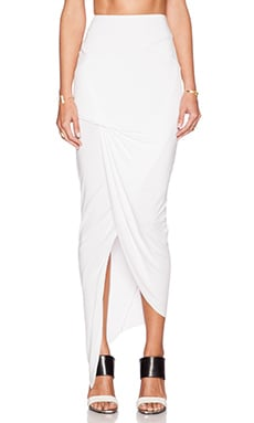 Young, Fabulous & Broke Sassy Skirt in White