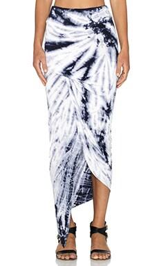 Young, Fabulous & Broke Sassy Skirt in Gray Dreamer