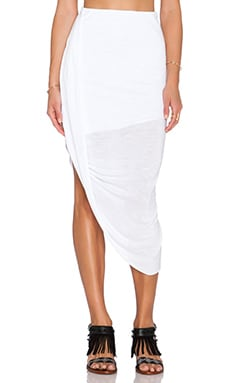 Young, Fabulous & Broke Awara Skirt in White