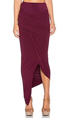 Young, Fabulous & Broke x REVOLVE Sassy Skirt in Cranberry