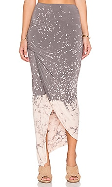 Young, Fabulous & Broke Sassy Skirt in Portabello Splatter Wash