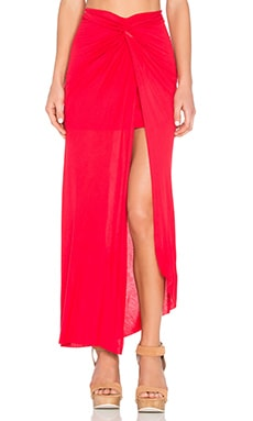 Young, Fabulous & Broke Kulani Maxi Skirt in Fire