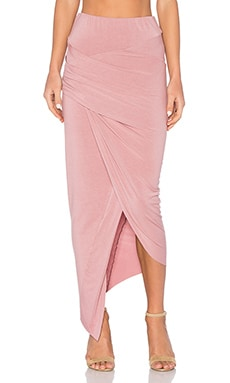 Young, Fabulous & Broke Sassy Skirt in Mauve