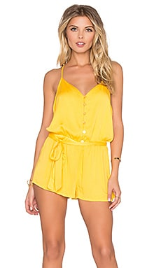 Young, Fabulous & Broke Jay Romper in Sun