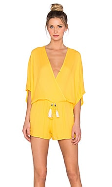 Young, Fabulous & Broke Ashley Romper in Sun