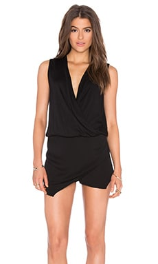 Sinta Romper in Black