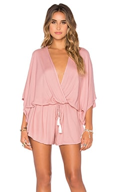 Young, Fabulous & Broke Ashley Romper in Mauve