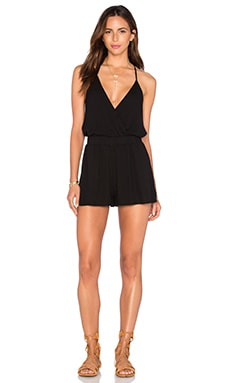 Young, Fabulous & Broke Hollie Romper in Black