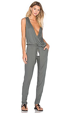 Cait Jumpsuit in Olive