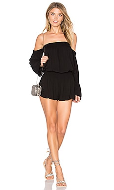 Estelle Romper in Black