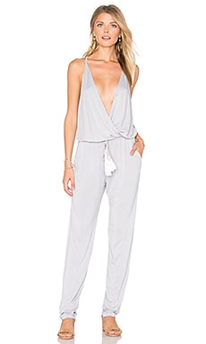 Chrissy Jumpsuit in Grey