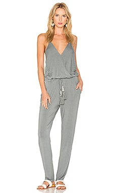 Chrissy Jumpsuit in Sage Solid