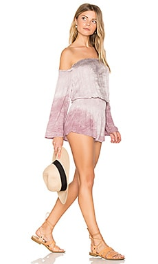 Estelle Romper in Orchid Reef Wash