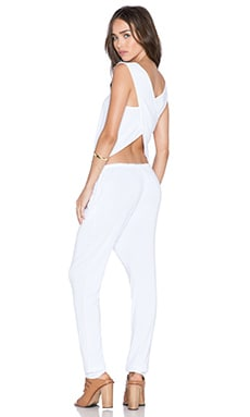 Young, Fabulous & Broke Gracie Jumpsuit in White