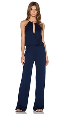 Young, Fabulous & Broke Avril Jumpsuit in Navy