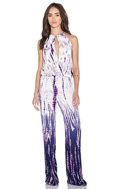 Young, Fabulous & Broke Avril Jumpsuit in Purple Rain Ombre