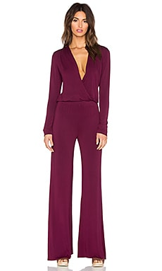 Howell Jumpsuit en Rojo Ladrillo