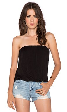 Young, Fabulous & Broke Reina Top in Black