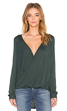 Alisha Top in Hunter