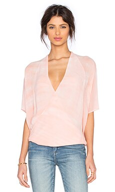 Young, Fabulous & Broke H Top in Melon Ripple Wash