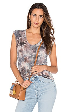 Young, Fabulous & Broke Ferrah Top in Mauve Grunge