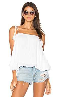 Indi Cami in White Solid