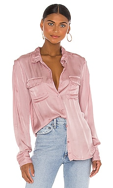 Блузка belle - Young Fabulous & Broke Рубашки на пуговицах фото