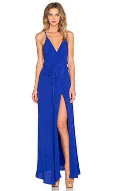 Rush Hour Maxi Dress in Royal Blue