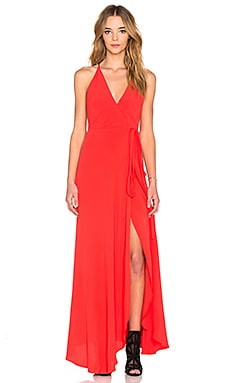 Yumi Kim Rush Hour Maxi Dress in Red