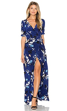 J'Adore Maxi Dress in Sienna Fiesta Navy