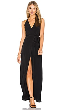 Rush Hour Maxi Dress in Black