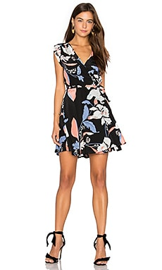 Soho Mixer Dress en Eastern Garden Black