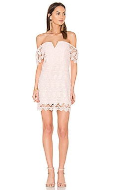 Melody Dress in Blush Lace