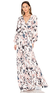 Giselle Maxi Dress in French Maison