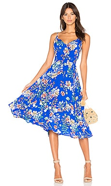 Floral Midi Dress in Sunday Funday
