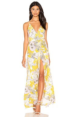 Rush Hour Maxi Dress in Bora Bora Yellow